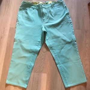 Coldwater Creek Denim Capris